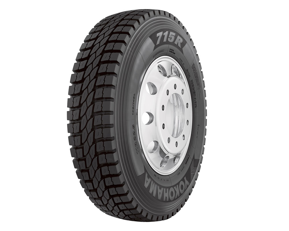 Yokohama Tire Introduces the 715R™, a SmartWay®-verified Open Shoulder Regional Drive Tire